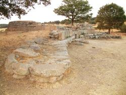 Nel sito di Gremanu l'unico esempio noto  di acquedotto nuragico
