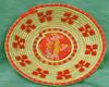 A Sinnai una fiera delle ceste decorate con stoffa rossa