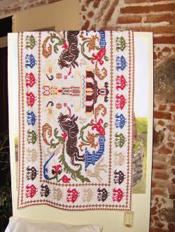 Samugheo e Busachi nei tappeti sardi la vivacità dei colori