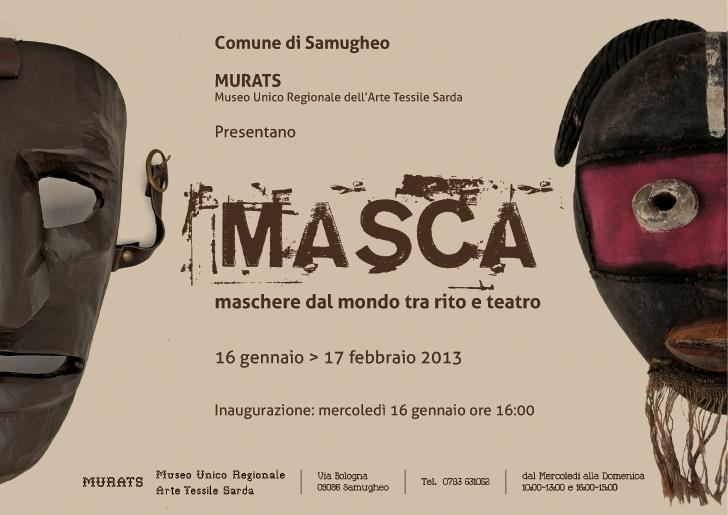 'MASCA'- Máscaras del mundo, entre rito y teatro.